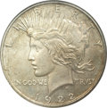 Proof Peace Dollars: , 1922 $1 Low Relief Satin PR63 NGC. This is an elusive issue that isseldom encountered in any...