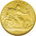 Commemorative Gold: , 1915-S $2 1/2 Panama-Pacific Quarter Eagle MS65 NGC. Only twocommemorative gold coins of this denomination were ever issue...