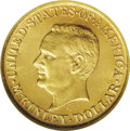 Commemorative Gold: , 1917 G$1 McKinley MS65 Prooflike NGC. An apricot-gold Gem withnicely reflective fields. No visible defects are detected. S...
