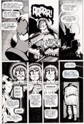 Original Comic Art:Panel Pages, Dave Sim Cerebus #17 Pages 7-8 Original Art(Aardvark-Vanaheim, 1980)....