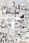 Original Comic Art:Panel Pages, Steve Ditko Beware the Creeper #3 Page 14 Original Art (DC,1968)....