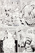 "Original Comic Art:Panel Pages, Jack Kirby and Vince Colletta Fantastic Four Annual #3 ""Bedlam In The Baxter Building!"" Page 6 X-Men Original Art ..."