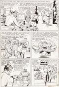 "Original Comic Art:Panel Pages, Jack Kirby and Chic Stone Fantastic Four Annual #2 ""TheFinal Victory of Doctor Doom!"" Page 9 Original Art (Marvel..."