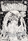 Original Comic Art:Covers, Neal Adams The Unexpected #114 Cover Original Art (DC, 1969)....