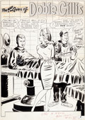 Original Comic Art:Splash Pages, Bob Oksner The Many Loves of Dobie Gillis #22 Splash Page 1Original Art (DC, 1963)....
