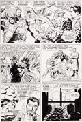 Original Comic Art:Panel Pages, Jack Kirby and Vince Colletta Fantastic Four #41 Page 11Medusa and The Thing Original Art (Marvel, 1965)....