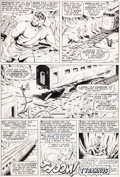"Original Comic Art:Panel Pages, Jack Kirby and Bill Everett Tales to Astonish #79 ""The Titanand the Torment"" Page 10 Hercules and Hulk Original A..."