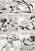 Original Comic Art:Panel Pages, Don Heck and George Roussos Avengers #40 Page 17 Hawkeye,Hank Pym, and Hercules Original Art (Marvel, 1967)....