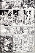 Original Comic Art:Panel Pages, Barry Smith, Tom Palmer, and Tom Sutton Conan the Barbarian #8 Page 16 Original Art (Marvel, 1971)....