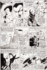 Gene Colan (as Adam Austin) and Bill Everett Tales to Astonish #79 Sub-Mariner Page 11 Original Art (Marvel, 1966)