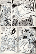 Original Comic Art:Panel Pages, John Romita Sr. and Tony Mortellaro Amazing Spider-Man #109Page 5 Doctor Strange Original Art (Marvel, 1972)....