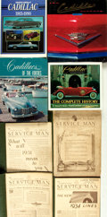 Books:Reference & Bibliography, [Automobiles, Cadillac]. Group of Four Books, Plus Collected Issuesof The Cadillac La Salle Service Man. Variou... (Total: 5Items)