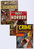 Golden Age (1938-1955):Miscellaneous, EC Comics Group of 14 (EC, 1951-55) Condition: Average GD+.... (Total: 14 Comic Books)