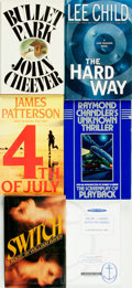 Books:Mystery & Detective Fiction, [Mystery & Detective Fiction]. Group of Six Books, Two of Whichare ADVANCED READING COPIES. Various publishers and dates....(Total: 6 Items)
