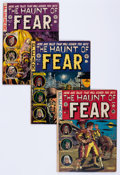 Golden Age (1938-1955):Horror, Haunt of Fear Group of 5 (EC, 1951-53) Condition: Average VG....(Total: 5 Comic Books)