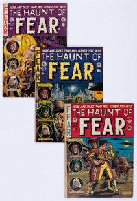 Haunt of Fear Group of 5 (EC, 1951-53) Condition: Average VG.... (Total: 5 Comic Books)