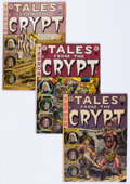 Golden Age (1938-1955):Horror, Tales From the Crypt Group of 8 (EC, 1951-54) Condition: AverageGD+.... (Total: 8 Comic Books)