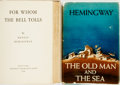 Books:Literature 1900-up, Ernest Hemingway. Pair of Titles. New York: Scribner's, 1940 and1952.... (Total: 2 Items)