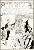 Original Comic Art:Covers, Gil Kane and Murphy Anderson Green Lantern #29 Black HandCover Original Art (DC, 1964)....