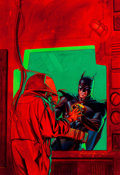 "Original Comic Art:Covers, Brian Stelfreeze Batman: Shadow of the Bat #48 ""TheApocalypse Plague: Part One"" Cover Painting Original Art (DC, ..."