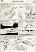 Original Comic Art:Panel Pages, George Papp Adventure Comics #277 Superboy Page 9 OriginalArt (DC, 1960)....