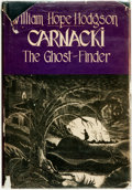 Books:Mystery & Detective Fiction, William Hope Hodgson. Carnacki the Ghost-Finder. Sauk City:Mycroft and Moran, 1947....