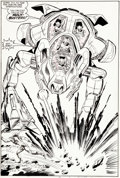 Original Comic Art:Splash Pages, John Byrne Incredible Hulk #318 Splash Page 12 Doc SamsonOriginal Art (Marvel, 1986)....