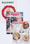 Magazines:Miscellaneous, Playboy 1955-56 Group (HMH Publishing, 1955-56) Condition: Average GD/VG.... (Total: 15 )