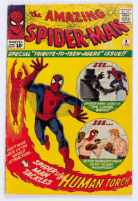The Amazing Spider-Man #8 (Marvel, 1964) Condition: GD/VG