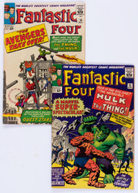 Fantastic Four #25 and 26 Group (Marvel, 1964).... (Total: 2 Comic Books)