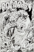 Original Comic Art:Splash Pages, Bruce Zick and Ian Akin Pirates of Dark Water #5 Splash Page18 Original Art (Marvel, 1992). ...