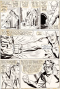 "Original Comic Art:Panel Pages, Steve Ditko and George Roussos (as George Bell) Tales ToAstonish #61 ""Now Walks The Android"" Page 10 Giant-Man an..."