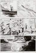 "Original Comic Art:Panel Pages, Bernie Wrightson Eerie #58 ""Pepper Lake Monster"" Page 26Original Art (Warren, 1974)...."