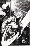 Original Comic Art:Splash Pages, Jim Lee and Scott Williams Superman V2#204 Splash Page 16Original Art (DC, 2004)....