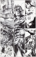 Original Comic Art:Panel Pages, Lee Bermejo Lex Luthor: Man of Steel #3 Page 12 Batman andSuperman Original Art (DC, 2005)....