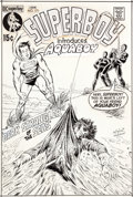 Original Comic Art:Covers, Carmine Infantino and Murphy Anderson Superboy #171 CoverAquaman Original Art (DC, 1971)....