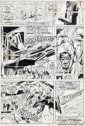 """Original Comic Art:Panel Pages, Neal Adams and John Verpoorten Amazing Adventures #7 """"AnEvening's Wait For Death!"""" Page 3 Triton, Gorgon, and Med..."""