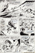 Original Comic Art:Panel Pages, Gene Colan and Johnny Craig Iron Man #1 Page 6 Nick Fury,Dum Dum Dugan, and Jasper Sitwell Original Art (Marvel, ...
