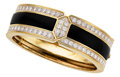 Estate Jewelry:Bracelets, Diamond, Black Onyx, Gold Bracelet. ...