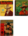 Big Little Book:Miscellaneous, Big Little Book Buck Jones/Hoot Gibson Group of 3 (Whitman,1935-36) Condition: Average VF+.... (Total: 3 Items)