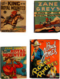 Big Little Book:Miscellaneous, Big Little Book Western/Zane Grey Group of 4 (Whitman/FiveStar, 1935-39).... (Total: 4 Items)