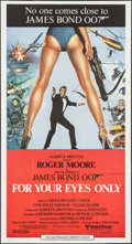 """Movie Posters:James Bond, For Your Eyes Only (United Artists, 1981). International ThreeSheet (41"""" X 76""""). James Bond.. ..."""