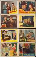 "Movie Posters:Drama, Woman in the Dark & Others Lot (RKO, 1934). Lobby Card Set of 8, Title Lobby Card, and Lobby Cards (122) (11"" X 14""). Drama.... (Total: 131 Items)"