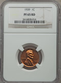 Proof Lincoln Cents: , 1939 1C PR65 Red NGC. NGC Census: (300/188). PCGS Population (679/339). Mintage: 13,520. Numismedia Wsl. Price for problem ...