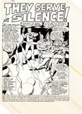 "Original Comic Art:Panel Pages, Dick Ayers and John Severin Captain Savage #19 ""They Servein Silence!"" 13-Page Partial Story Original Art (Marvel... (Total:13 Original Art)"