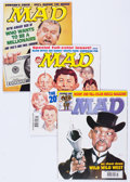 Magazines:Mad, MAD Magazine Short Box Group (EC, 1978-2000) Condition: Average FN/VF....