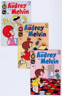 Little Audrey and Melvin File Copies Box Lot (Harvey, 1963-73) Condition: Average NM-