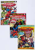 Bronze Age (1970-1979):Superhero, The Amazing Spider-Man #138-175 Near-Complete Run Box Lot (Marvel,1974-77) Condition: Average VG.... (Total: 2 Box Lots)