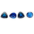Estate Jewelry:Unmounted Gemstones, Unmounted Sapphire. ... (Total: 4 Items)