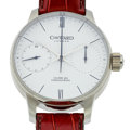 Timepieces:Wristwatch, Christopher Ward C9 Single Pusher Chronograph, No. 017/250. ...